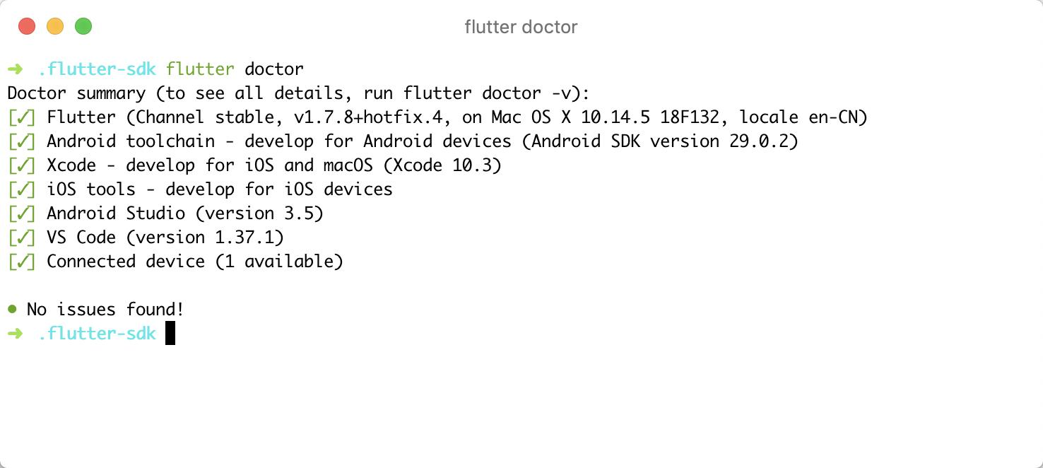 flutter-doctor